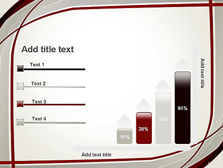 Overlapping Curves PowerPoint Template Slide 8