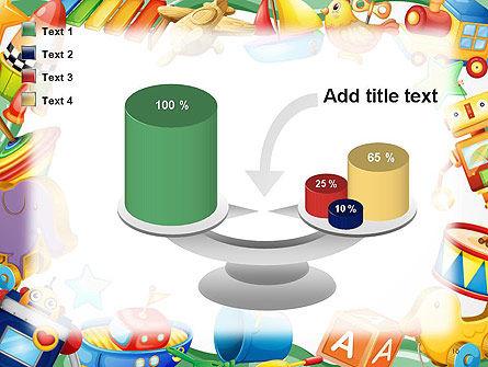 Toys Frame PowerPoint Template Slide 10