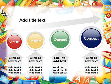 Toys Frame PowerPoint Template Slide 13
