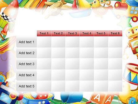 Toys Frame PowerPoint Template Slide 15