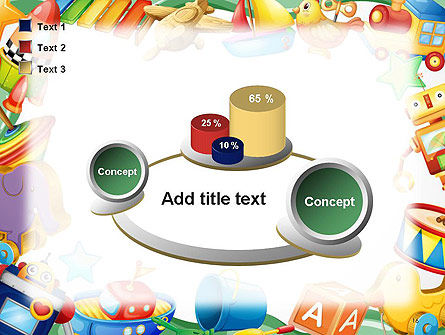 Toys Frame PowerPoint Template Slide 16