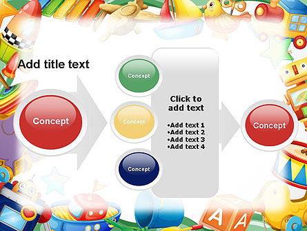 Toys Frame PowerPoint Template Slide 17