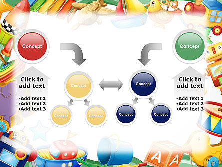 Toys Frame PowerPoint Template Slide 19