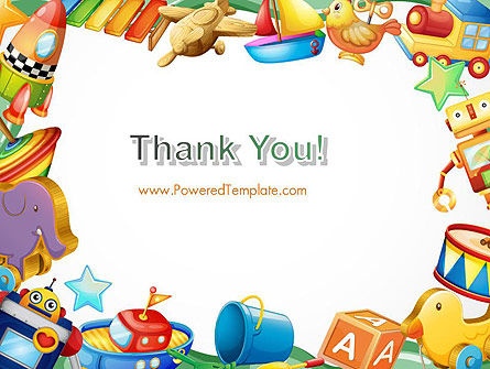 Toys Frame PowerPoint Template Slide 20