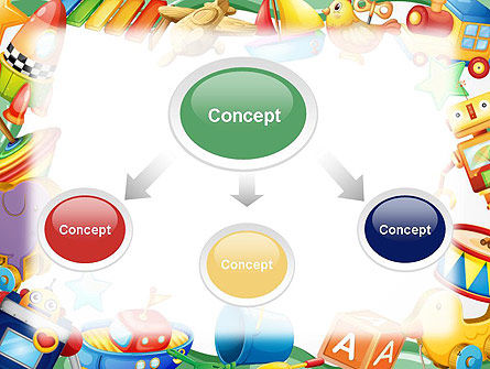 Toys Frame PowerPoint Template Slide 4