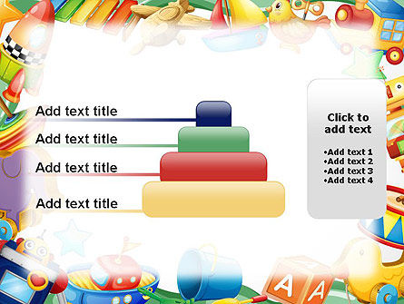 Toys Frame PowerPoint Template Slide 8