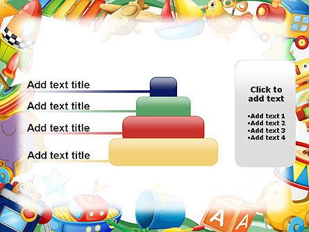 Toys Frame PowerPoint Template Slide 8