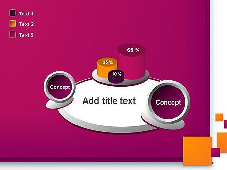 Rectangular Plates Abstract PowerPoint Template Slide 16