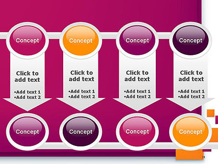 Rectangular Plates Abstract PowerPoint Template Slide 18