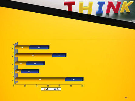 Word Think PowerPoint Template Slide 11