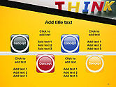 Word Think PowerPoint Template#18