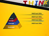 Word Think PowerPoint Template#4
