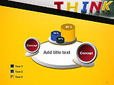 Word Think PowerPoint Template#6
