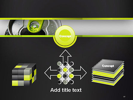Energy Drink Can PowerPoint Template Slide 19