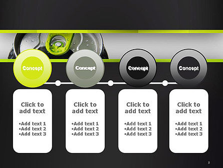 Energy Drink Can PowerPoint Template Slide 5