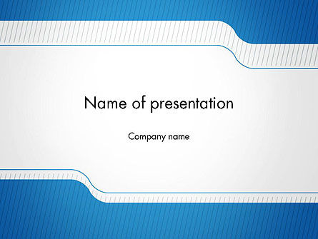 Business: Official Abstract Border PowerPoint Template #14298