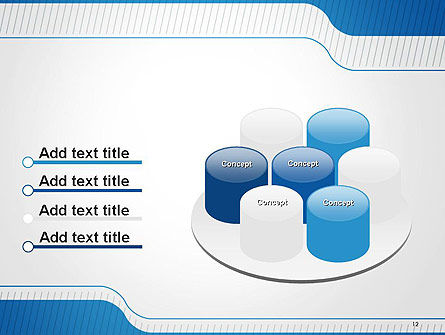 Official Abstract Border PowerPoint Template Slide 12