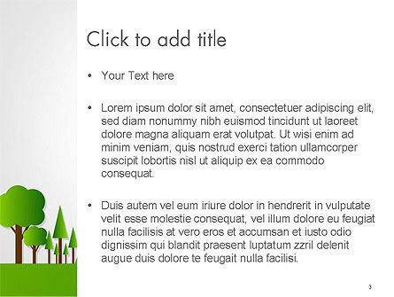 Green City Concept PowerPoint Template, Slide 3, 14299, Nature & Environment — PoweredTemplate.com