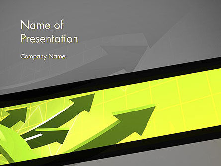 Careers/Industry: Sustainability Management Abstract PowerPoint Template #14300