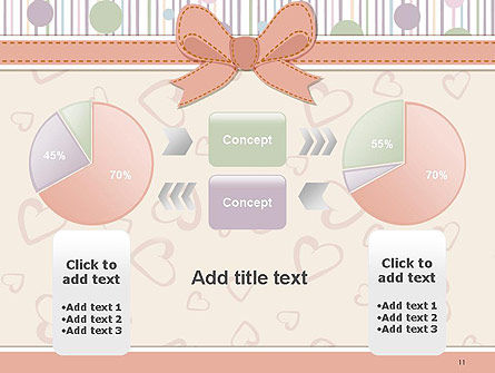 Baby Shower Invitation PowerPoint Template Slide 11