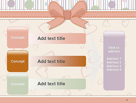 Baby Shower Invitation PowerPoint Template Slide 12