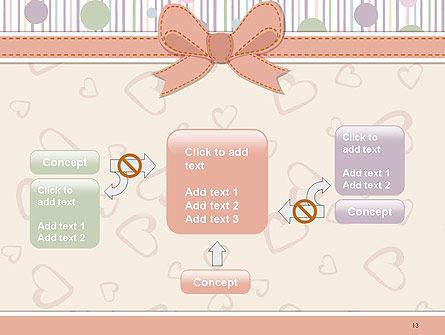 Baby Shower Invitation PowerPoint Template Slide 13