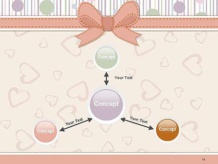 Baby Shower Invitation PowerPoint Template Slide 14