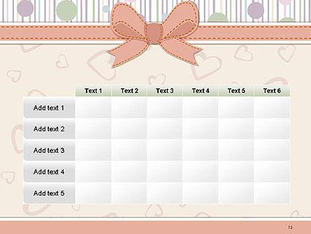 Baby Shower Invitation PowerPoint Template Slide 15