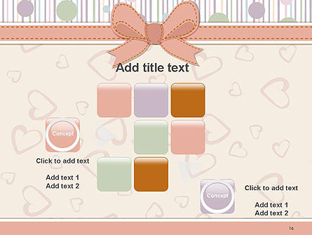 Baby Shower Invitation PowerPoint Template Slide 16