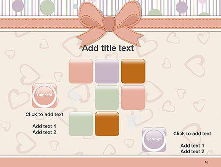 Baby Shower Invitation PowerPoint Template Slide 16
