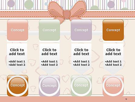 Baby Shower Invitation PowerPoint Template Slide 18