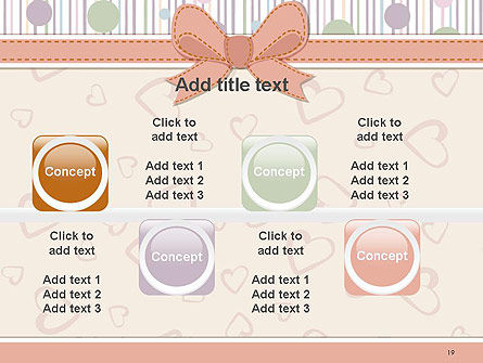 Baby Shower Invitation PowerPoint Template Slide 19