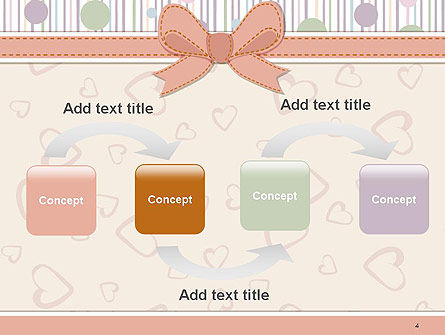 Baby Shower Invitation PowerPoint Template, Slide 4, 14302, Holiday/Special Occasion — PoweredTemplate.com
