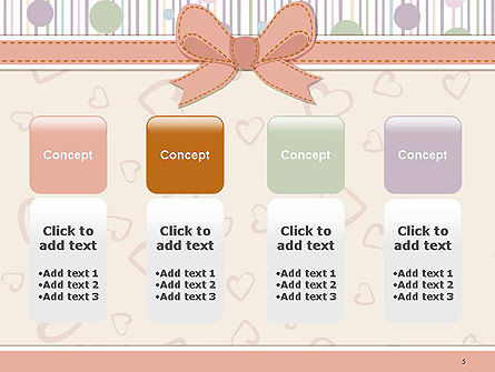 Baby Shower Invitation PowerPoint Template Slide 5