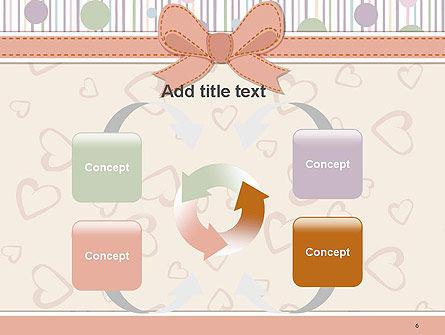 Baby Shower Invitation PowerPoint Template Slide 6