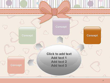 Baby Shower Invitation PowerPoint Template Slide 7