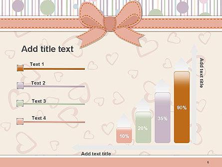 Baby Shower Invitation PowerPoint Template Slide 8