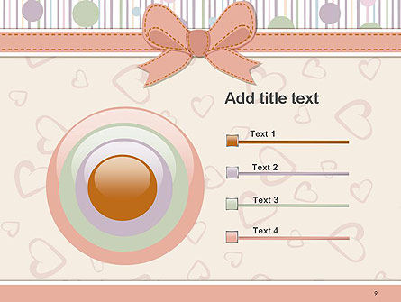 Baby Shower Invitation PowerPoint Template Slide 9