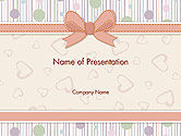 Holiday/Special Occasion: Baby Shower Invitation PowerPoint Template #14302