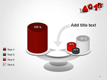 401k PowerPoint Template Slide 10