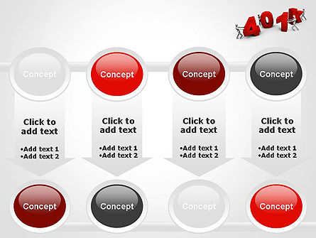 401k PowerPoint Template Slide 18