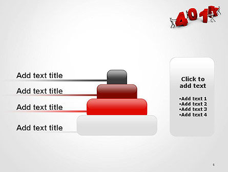 401k PowerPoint Template Slide 8