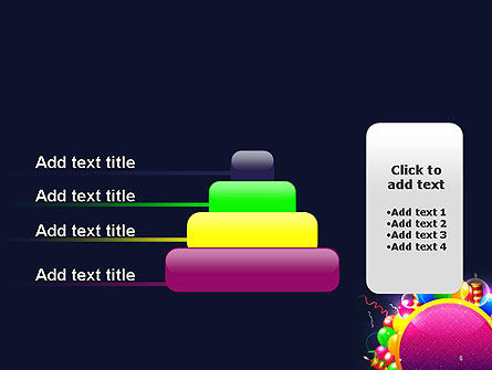 Happy Birthday Card PowerPoint Template Slide 8
