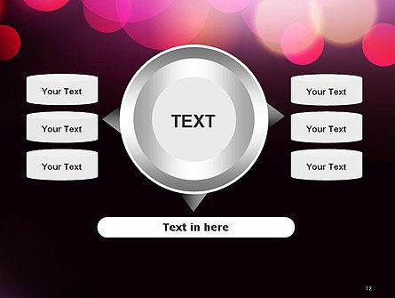 Festive Bokeh PowerPoint Template Slide 12