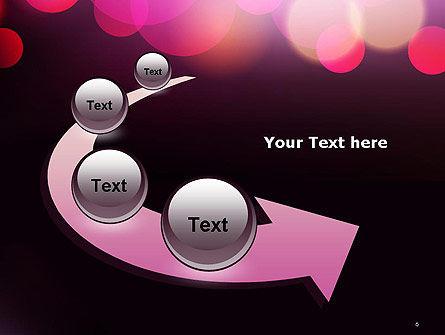 Festive Bokeh PowerPoint Template Slide 6