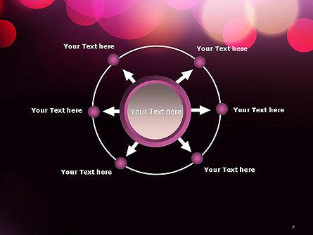 Festive Bokeh PowerPoint Template Slide 7