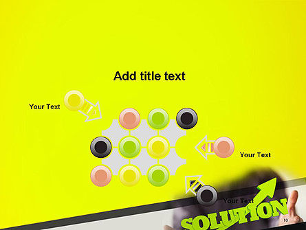 Arrow Solution PowerPoint Template Slide 10