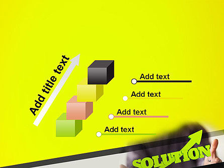 Arrow Solution PowerPoint Template Slide 14
