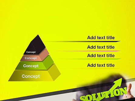 Arrow Solution PowerPoint Template Slide 4