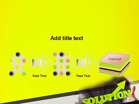 Arrow Solution PowerPoint Template Slide 9